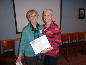 Dianne Barske and Sherrie Simmonds
