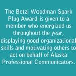 Betzi Woodman Spark Plug Award