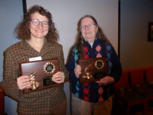 Lizzie Newell and Pat Richardson receive the 2016 Spark Plug Award
