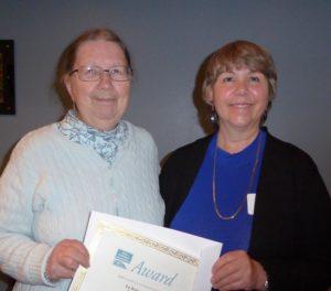 Pat Richardson with Diane Walters